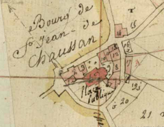 Plan Chaussan 1812 s